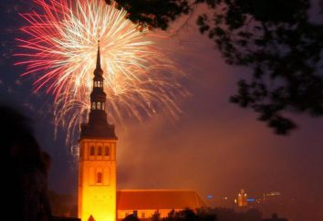 Neujahr in Tallinn. Winterurlaub in Estland