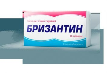 """""""Brizantin"""": instrukcje użytkowania. Lekarstwem na palenie """"Brizantin"""""""