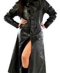 abrigo de cuero – Usted es siempre