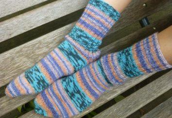 Socken stricken Speichen: Tipps für Anfänger