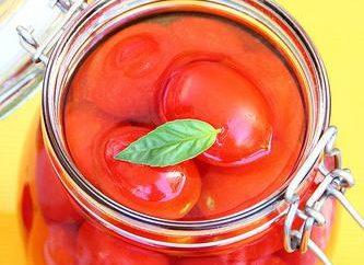 Marynowanie pomidory bez sterylizacji: najlepsze recepty. Jak marynować pomidory bez sterylizacji?