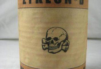 """""""Zyklon B"""": la storia, in particolare la chimica e le proprietà fisiche"""