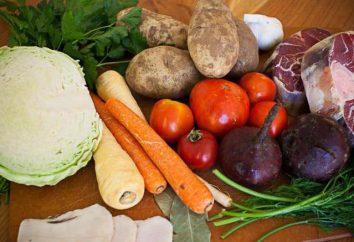 zuppa di Kuban: ricetta