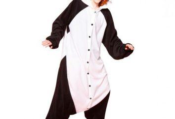 Carnival traje de la panda: una gran opción para las vacaciones
