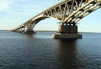Ponte di Saratov – simbolo della città di cinquanta