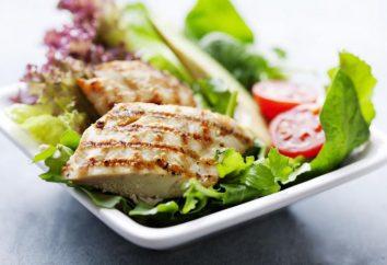 Sałatka z pomidorami, kurczakiem i serem. Oryginalne przepisy