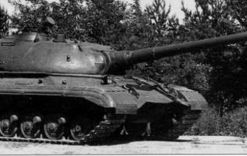 """""""Objekt 277"""" schwere Panzer erlebt. """"Objekt 277"""": Beschreibung, Merkmale und interessante Fakten"""