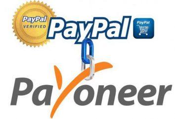 sistema de pagamento Payoneer: os comentários dos usuários e funcionários