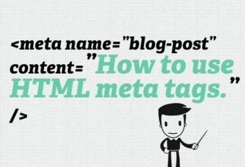 Najbardziej popularne i użyteczne html meta-tag na promocję w sieci