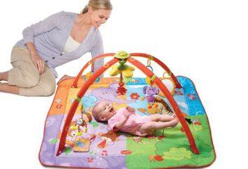 Comment choisir le tapis développement d'un enfant
