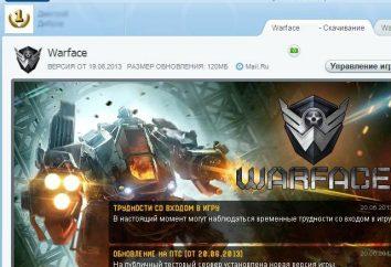 Centro de jogo para lançar Warface – o que é e por que precisamos?