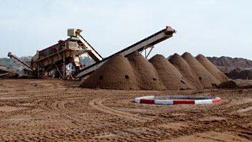 Sand Precoat: die Eigenschaften, Anwendung