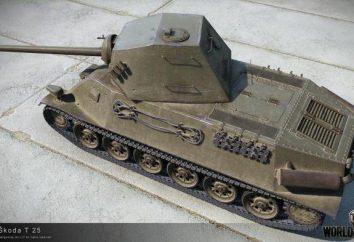 """""""Skoda T-25"""" (T-25 Škoda) – Checoslováquia tanque médio: Review, guia, características"""