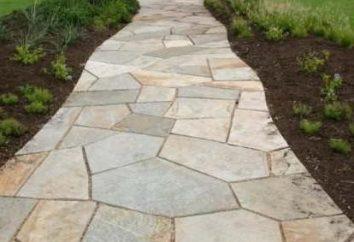 Gartenweg aus Naturstein