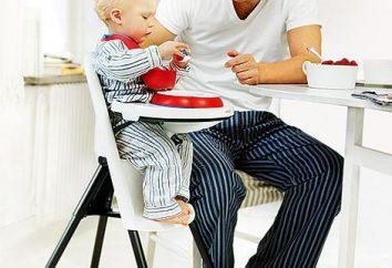 Chaise haute Peg-Perego – la qualité et la beauté pour votre bébé
