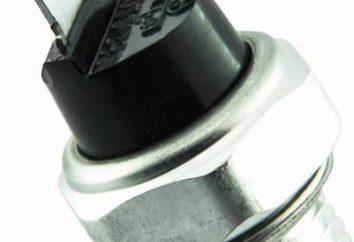 przełącznik ciśnienia oleju VAZ-2114. Wymiana czujnik ciśnienia oleju