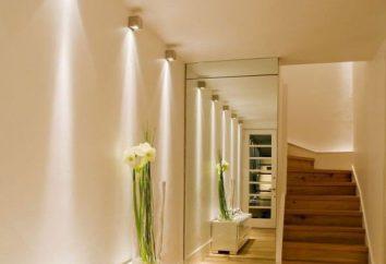 Comment organiser l'éclairage dans le couloir. couloir étroit de l'appartement. Conseils de designer