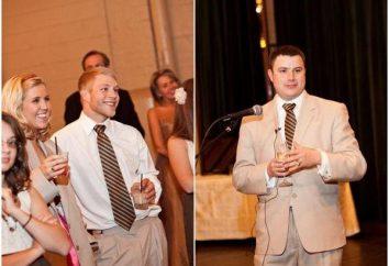Triumphieren in Erinnerung: lustige Hochzeit Lotterie