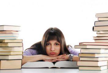 La admisión a la psicología de la universidad después de que el grado 9: exámenes, pruebas
