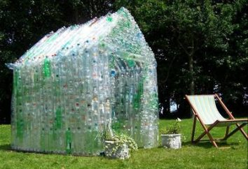 Szklarnia plastikowych butelek z własnymi rękami. Szklarnia z plastikowych butelek: klasa mistrzowska