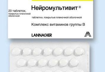 "Drug ""Neyromultivit"" für das Kind"