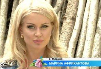 Lo delgado Marina Afrikantov realidad: Características, dieta y comentarios