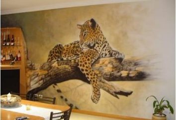 Aérographie sur le mur – une nouvelle tendance dans la décoration intérieure