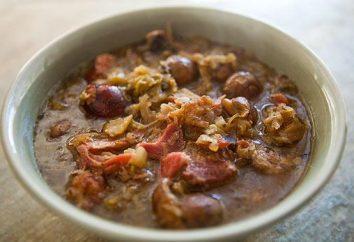 Cocinar Bigos: Receta polaco