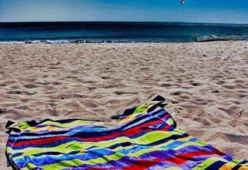 O toalha o mais conveniente e prático praia? Algumas dicas para a compra bem sucedida