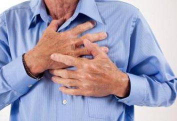 Jak pokazano dławicy piersiowej (objawy) i jakie leki wziąć w tym samym czasie?
