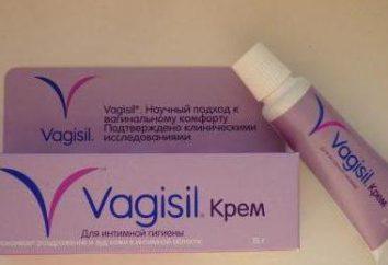 """""""Vagiz"""" (krem): instrukcje użytkowania"""