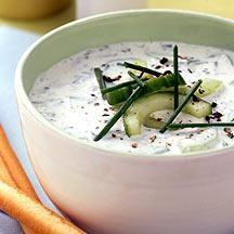 Kalte Suppe mit Kefir – ein paar leckeren Optionen
