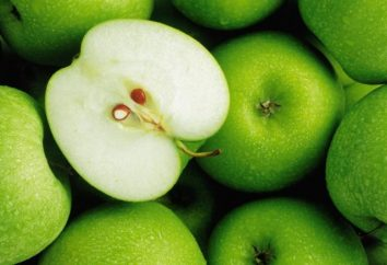 Les pommes vertes: profitent à l'organisme. Recette pour Charlotte