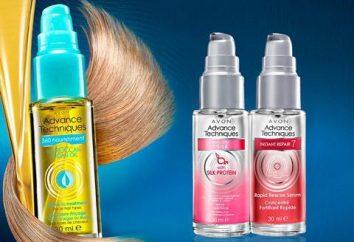 """Serum für die Haare """"Avon"""": Zusammensetzung und Anwendung"""