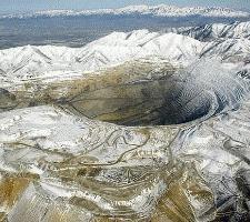 A mina mais profunda do mundo para a extração de carvão e ouro