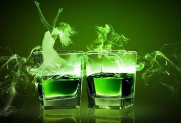 """Grüne Fee"" – ein Cocktail Gourmet"