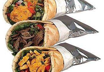 Köstliches Shawarma: wie es zu Hause zu tun?