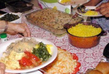 Niezwykłe posiłek lub kucharz w ślad