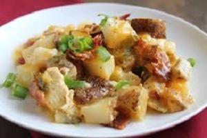 refeição favorita na sua mesa: como cozer batatas com frango no forno