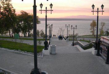 Population et région de Khabarovsk. Fuseau horaire, le climat, l'économie et les attractions à Khabarovsk