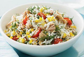 Jak przygotować sałatkę z tuńczyka w puszkach i kukurydzy?