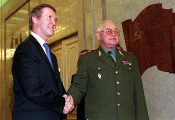 General Sergeev: biografia e fotos