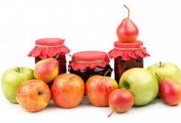 Comment faire cuire la confiture de poires et les pommes?