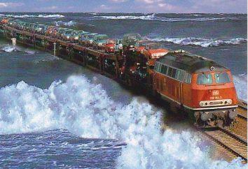 Caminhos de Ferro da Alemanha: o comprimento, aulas de trem