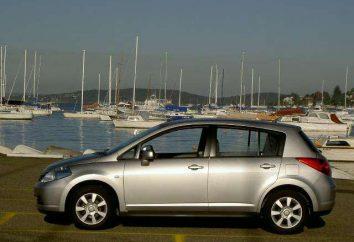 Hatchback « Nissan Tiida » – une nouveauté exceptionnelle de l'industrie automobile japonaise