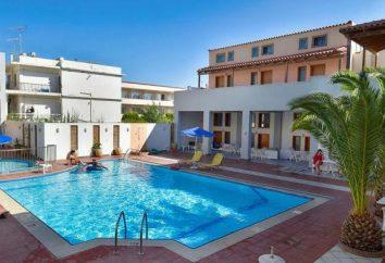 Flisvos Beach Rethymno 3 * (Grecia, Creta): descripción del hotel, servicios, comentarios
