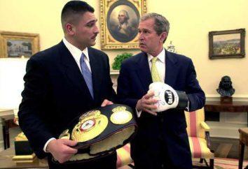 Boxer John Ruiz: combats de poids lourds américains