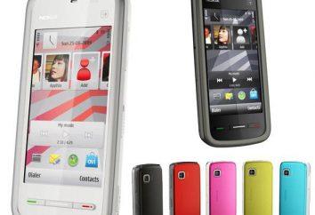 """""""Nokia 5230"""": características, configuración, y las revisiones del teléfono"""