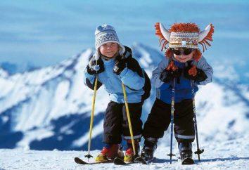 Kindersport Winterspaß: Beschreibung, Optionen, Veranstaltungen Szenario