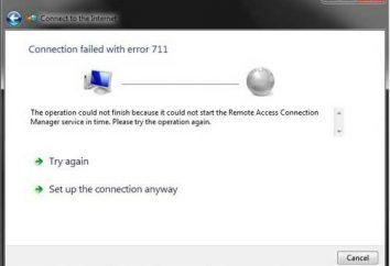 711 Failure (błąd), jak to naprawić?